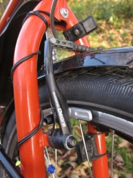 Shimano Deore V-Brakes with XT pads