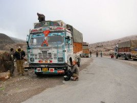 Our ride for the Leh-Manali Highway.