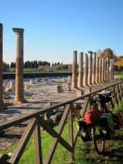 Picnic by Roman ruins