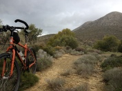 Pete sheds the gear and explores local mountain biking