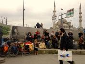 054 'Bike-Sitting... (with snacks)' - Istanbul
