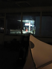 another petrol station camp spot