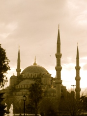 051 'The Blue Mosque' - Istanbul