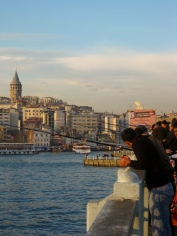 044 'Fishing On The Bosporus' - Istanbul