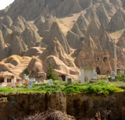 Approaching Cappadocia