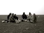 062 'Morning tea at Shepherd Point' - Turkey