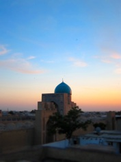 096 'Bukhara Skyline' - Uzbekistan