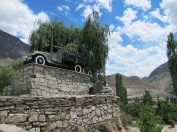 The first car to drive the Pamir Highway