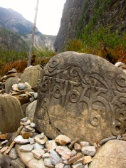 Buddhist stones