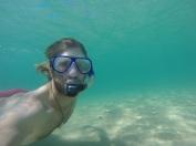 Underwater 'selfie'