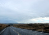 Cold, wet & beautiful roads - North Island. We're glad we're driving...