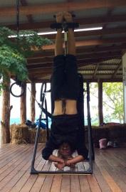 jus hangin' around