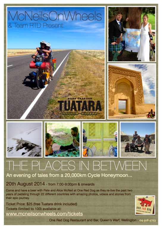 Places in between poster