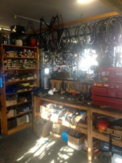Pete's workplace - J'ville Cycles